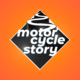 Motor Cycle Story - Typography Logo