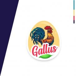 Gallus Logo Organic Meat Eggs